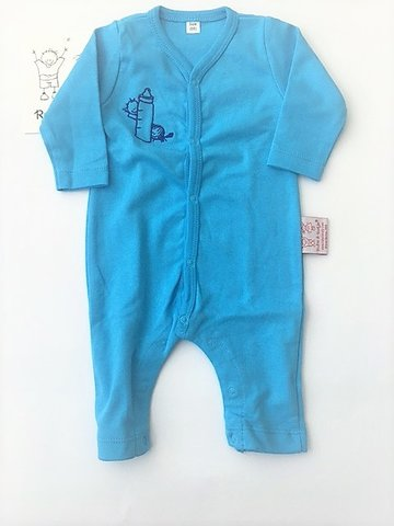 Baby kruippakje blauw  maat